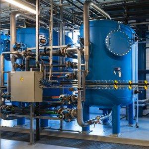 system uzdatniania wód przemysłowych
